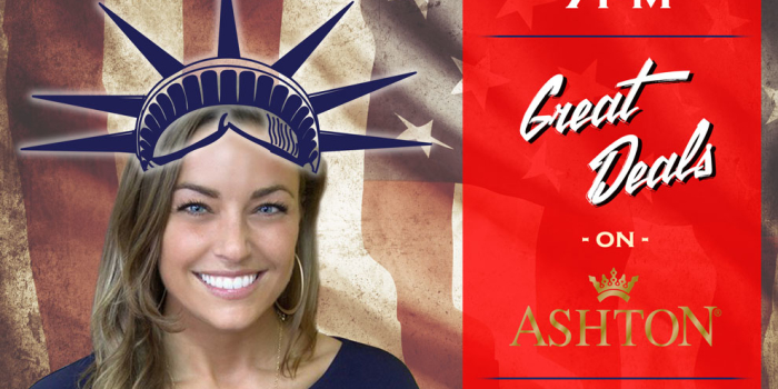 Tax Day event with Christie Petersen of Ashton Cigar