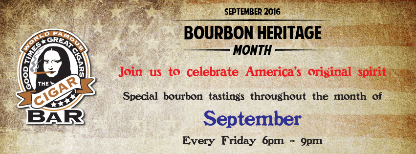September is Bourbon Heritage Month