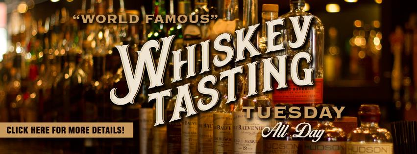 Whiskey Tasting Tuesday