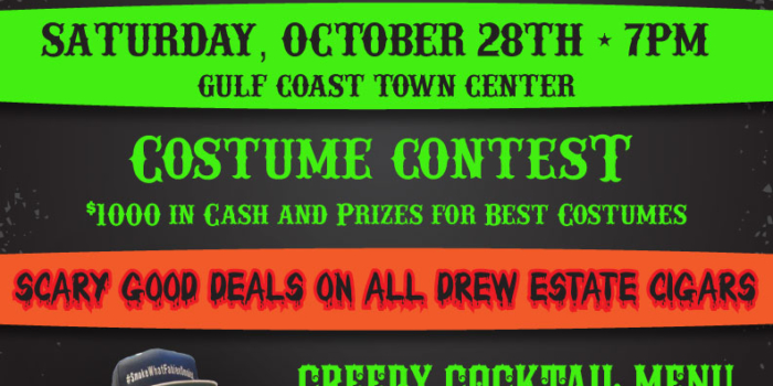 Halloween Party with Drew Estate Cigars